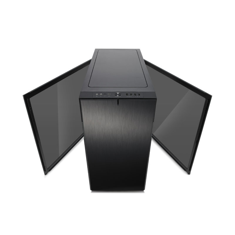 Image of Fractal Design R6 TG Black Window Panel Computer Case