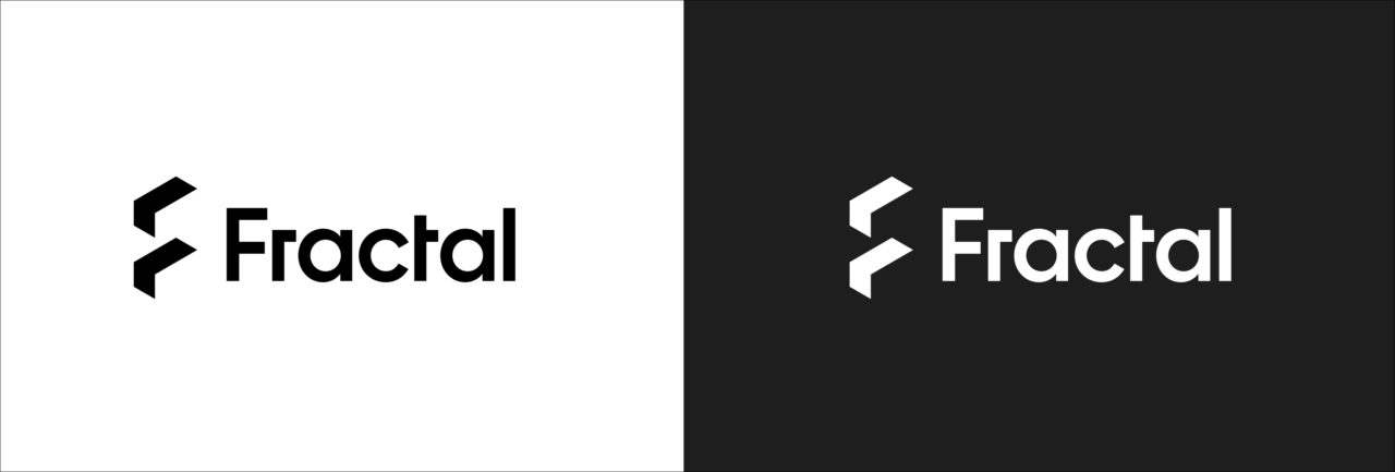 Fractal New Logo BlackWhite