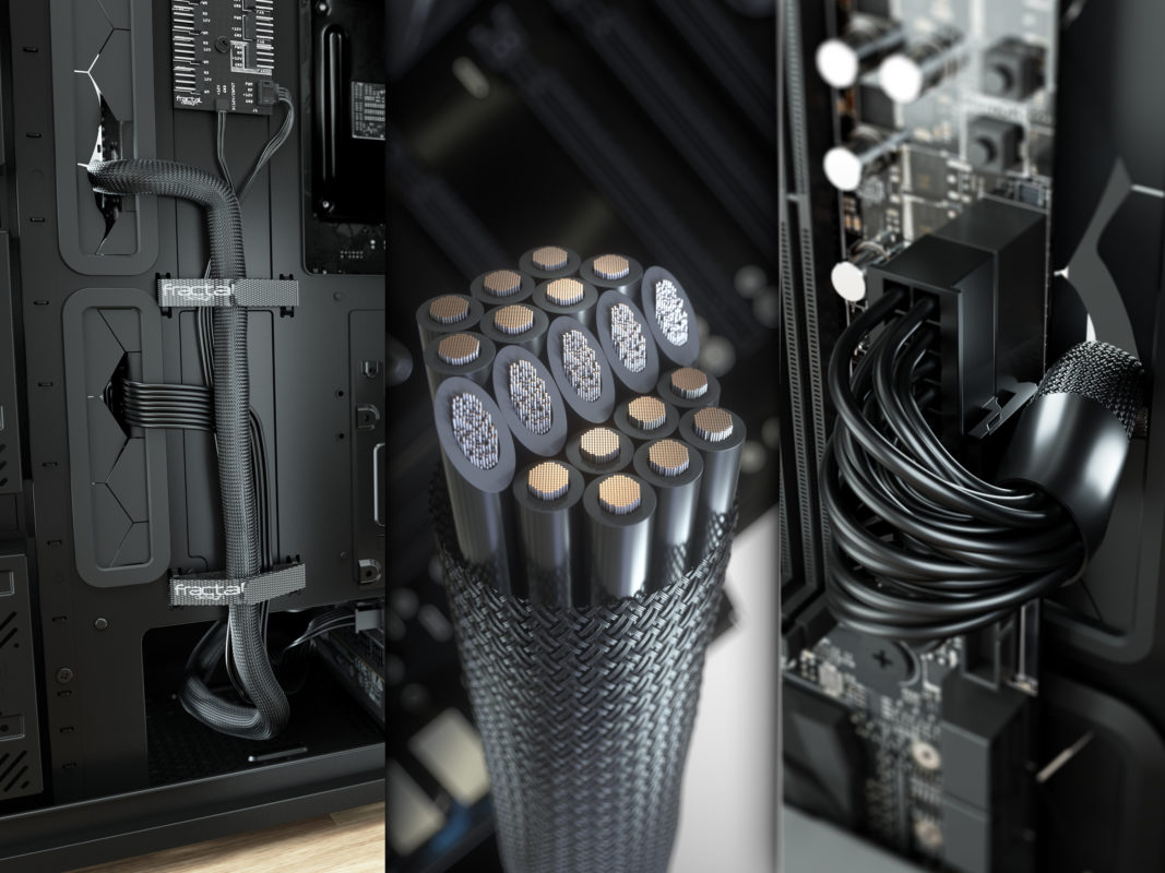 Product Image of Fractal Design Ion PSU UltraFlex Cables