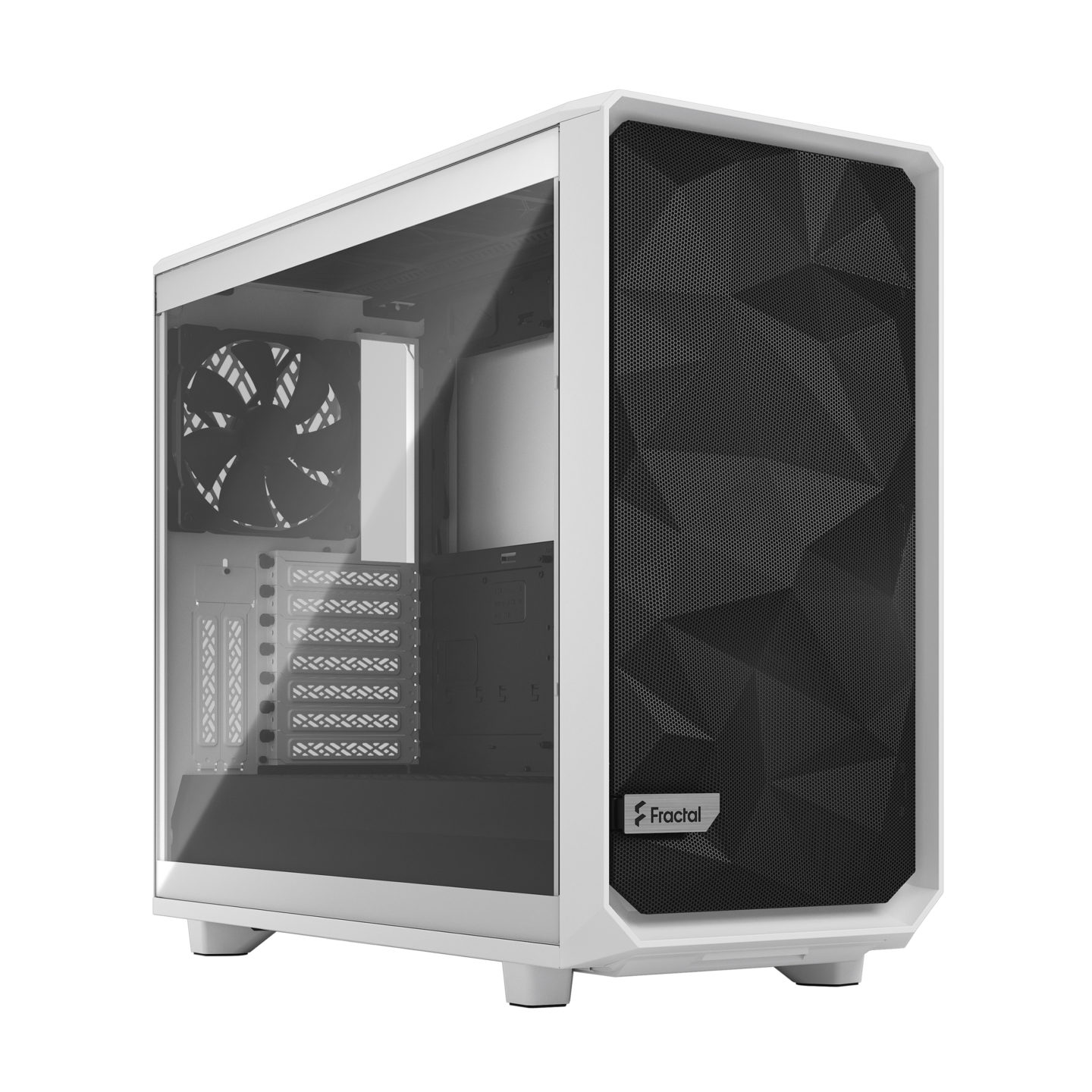 Review Fractal Meshify 2 White Tempered Glass 1